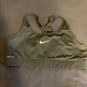 Nike sports bra no pads size L